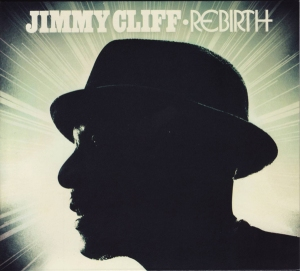 "Capa do disco ""Rebirth"" por Jimmy Cliff"